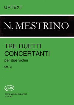 3 Duetti Concertanti, Op. 3: 2 Violins Score and Parts (HL-50489925)