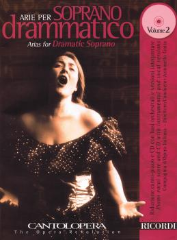 Arias for Dramatic Soprano - Vol. 2: Cantolopera Series with a CD of p (HL-50489947)