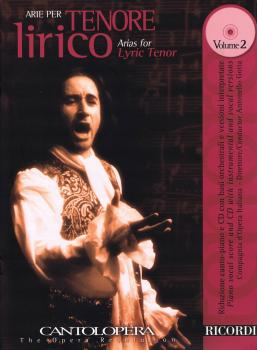 Arias for Lyric Tenor - Vol. 2: Cantolopera Series with a CD of perfor (HL-50489949)