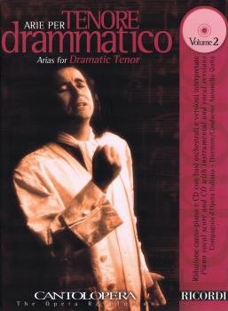 Arias for Dramatic Tenor, Vol. 2: Cantolopera Series with a CD of perf (HL-50489950)