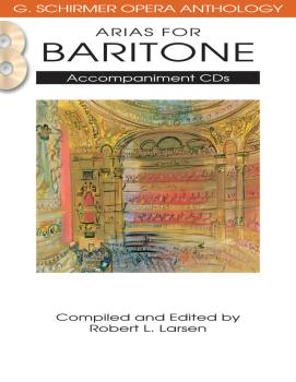 Arias for Baritone: G. Schirmer Opera Anthology Accompaniment CDs 2 (HL-50490486)