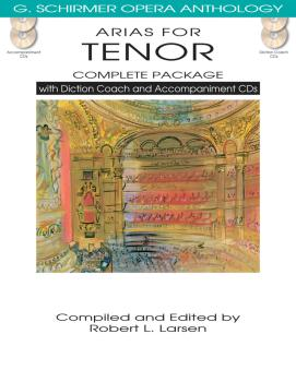Arias for Tenor - Complete Package (with Diction Coach and Accompanime (HL-50498719)