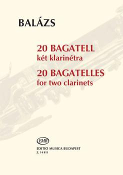 20 Bagatelles: Two Clarinets Performance Score (HL-50499265)