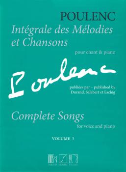 Complete Songs: Volume 3 Voice and Piano Original Keys (HL-50499303)