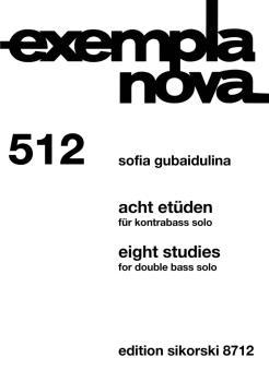 Eight Studies [Acht Etüden] (Double Bass Solo) (HL-50499332)