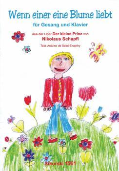 Wenn einer eine Blume liebt: aus der Oper Der kleine Prinz (HL-50499551)