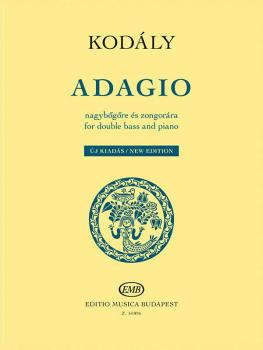 Adagio for Double Bass and Piano - New Edition (HL-50499740)