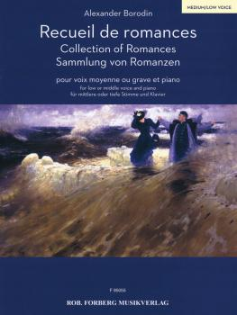 Collection of Romances [Recueil de romances] (for Low Voice and Piano) (HL-50499743)