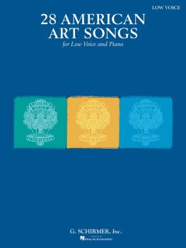 28 American Art Songs (Low Voice and Piano) (HL-50499823)
