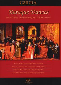Baroque Dances for Two Treble Recorders or Two Flutes or Two Violins (HL-50510356)