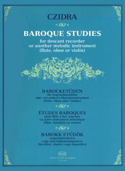 Baroque Studies for Descant Recorder: or Other Melodic Instrument Flut (HL-50510394)