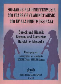 Baroque and Classicism: 200 Years of Clarinet Music (HL-50510424)