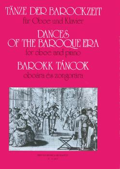 Dances of the Baroque Era: Oboe with Piano Accompaniment (HL-50510547)