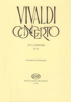 Concerto in A Minor for Oboe, Strings, and Continuo, RV 461: Oboe with (HL-50510567)
