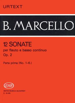 12 Sonatas for Flute and Basso Continuo, Op. 2 - Volume 1 (HL-50510573)
