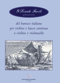 9 Sonate Facili-vln/pno(vcl) (HL-50510617)