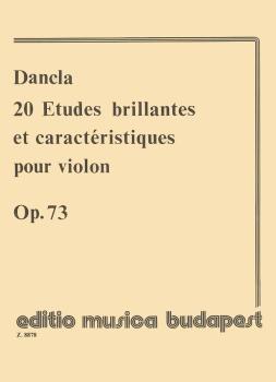 20 Études Brillantes & Caractéristiques, Op. 73 (Violin Solo) (HL-50510669)