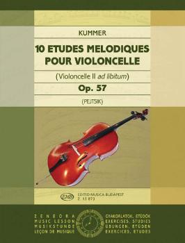 10 Études Mélodiques, Op. 57 (Violoncello II ad. lib.) (HL-50510862)
