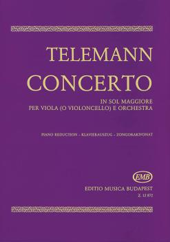 Concerto in G for Viola or Violoncello and Orchestra: Viola and Piano  (HL-50510868)