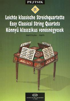 Chamber Music Method for Strings - Volume 4: Easy Classical String Qua (HL-50510876)