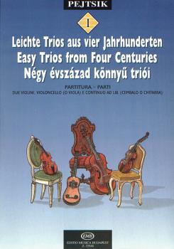 Chamber Music Method for Strings - Volume 1: Easy Trios from Four Cent (HL-50510879)