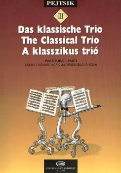 Chamber Music Method for Strings - Volume 3 (The Classical Trio) (HL-50510891)