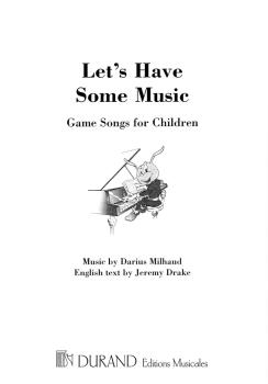 Let's Have Some Music: Game Songs for Children (HL-50564950)