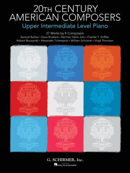 20th Century American Composers - Upper Intermediate Level Piano: 27 W (HL-50600069)
