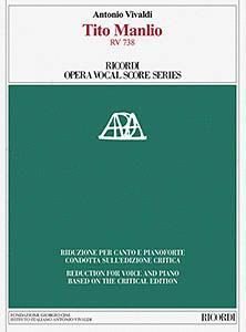 Tito Manlio, RV 738: Ricordi Opera Vocal Score Series (HL-50600117)