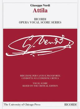 Attila: Ricordi Opera Vocal Score Series (HL-50600119)