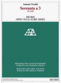 Serenata a 3, RV 690: Ricordi Opera Vocal Score Series (HL-50600187)