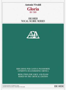 Gloria, RV 589: Ricordi Opera Vocal Score Series (HL-50600188)