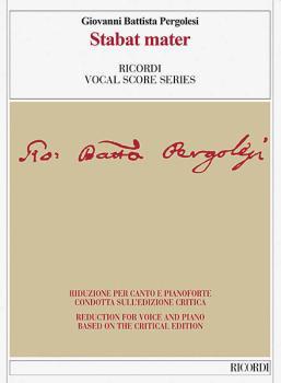 Stabat Mater: Ricordi Opera Vocal Score Series (HL-50600189)