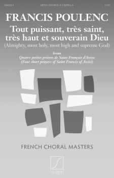 Tout puissant, très saint, trés haut et souverain Dieu: French Choral  (HL-50600314)