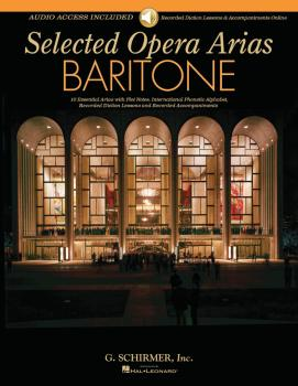 Selected Opera Arias (Baritone Edition) (HL-50600348)