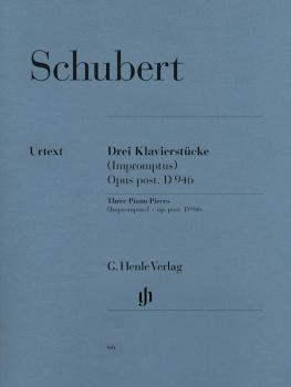 3 Famous Pieces - Impromptus (Piano Solo) (HL-51480066)