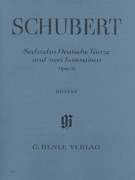 16 German Dances and 2 Ecossaises Op. 33 D 783 (Piano Solo) (HL-51480179)