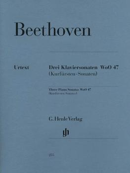 3 Piano Sonatas WoO 47 (Kurfürsten-Sonatas) (HL-51480255)