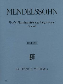 3 Fantasies ou Caprices Op. 16 (Piano Solo) (HL-51480462)