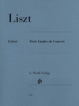 3 Études de Concert (Piano Solo) (HL-51480481)