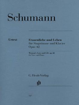 Frauenliebe und Leben, Op. 42: Medium Voice and Piano (HL-51480547)