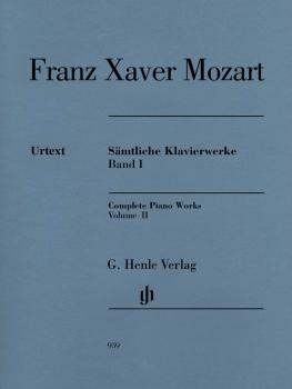 Franz Xaver Mozart - Complete Piano Works, Vol. II (HL-51480959)
