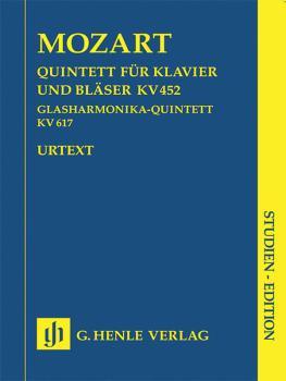 Adagio and Rondo K617: Study Score Includes K452 and K617 (HL-51489665)