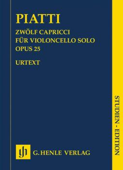 12 Capricci Op. 25 for Violoncello Solo (HL-51489746)