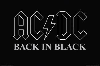 AC/DC - Back in Black - Wall Poster: 24 inches x 36 inches (HL-00149840)