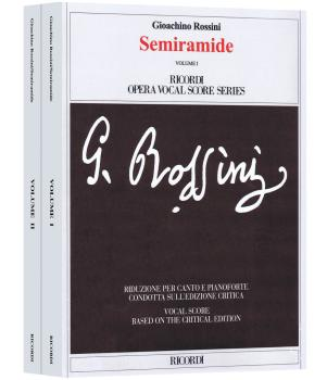 Semiramide: Ricordi Opera Vocal Score Series (HL-50600400)