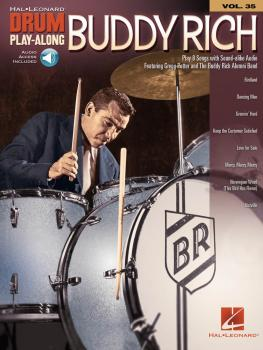 Buddy Rich: Drum Play-Along Volume 35 (HL-00124640)