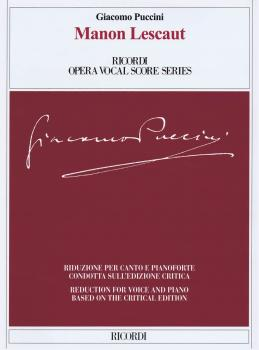 Manon Lescaut: Ricordi Opera Vocal Score Series (HL-50600415)