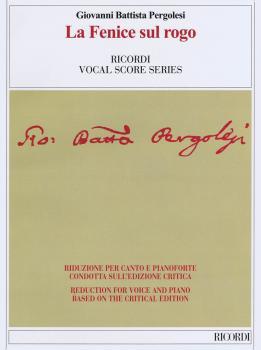 Le Fenice sul Rogo: Ricordi Opera Vocal Score Series (HL-50600414)