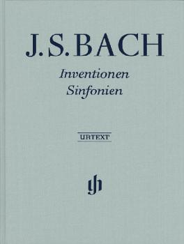 Inventions and Sinfonias: Revised Edition - Piano Solo Hardcover with  (HL-51480590)